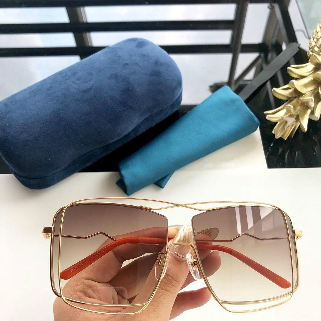 Дизайн очки новых 2020 нерегулярных очки мса 0552 стильный двойной эффект кадра изящный и благородный с коробкой высокого качества монопольно