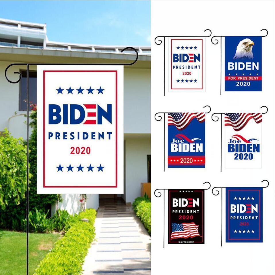 2020 바이든 정원 플래그 미국 대통령 더블 프리미엄 패브릭 야외 장식 마당 잔디 배너 DDA223 양면