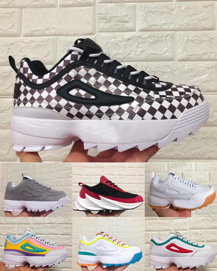 2020 Scarpe Dad Uomini donne di conforto casuali runnig Scarpe Uomo giornaliera Lifestyle Skateboarding Shoe Effettuare le vecchie scarpe da passeggio dimensione Sneakers 35-45