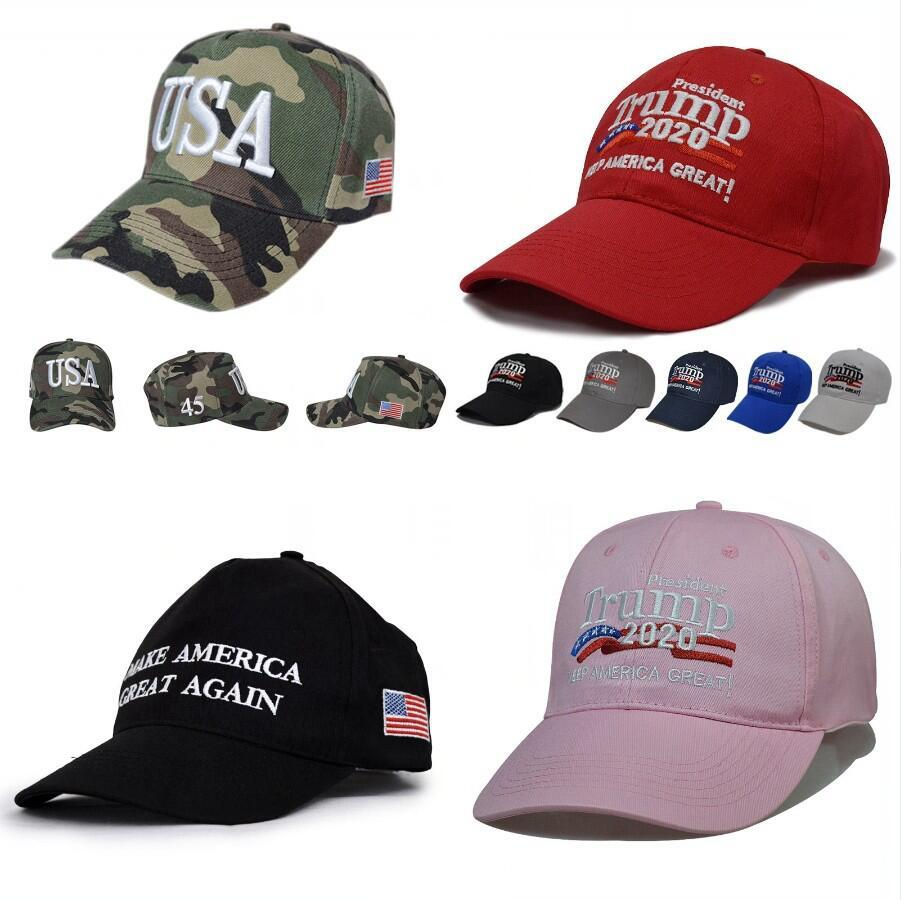 Donald Trump 2020 gorra de béisbol Elección Presidencial EE.UU. Nuestra Salud, Gran volvieron a lavar sombreros de los deportes al aire libre DDA272