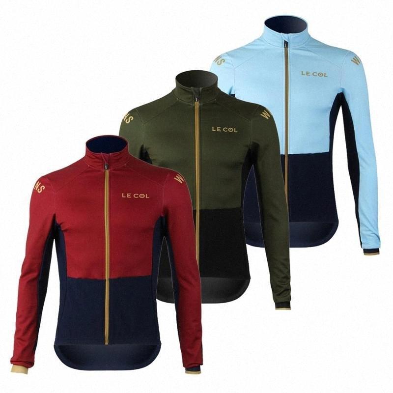 2020 2020 긴 소매 저지 남자 얇은 섹션 스타킹 셔츠 르 골 프로 팀 유니폼 도로 자전거 의류 사용자 정의 MTB 자전거 키트 Ciclismo 7jxx #