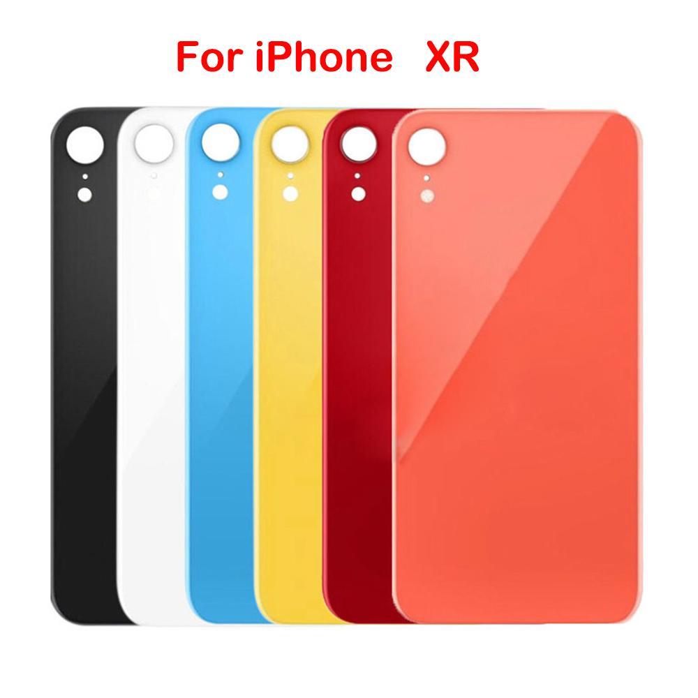 OEM Konut İçin Apple iPhone 10 X XS MAX Arka Cam Pil Kapağı Arka Kapı Konut Case iPhone 8 8P Arka Cam Kapak