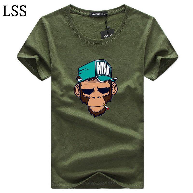 Men's T-Shirts Plus Size S-5XL Tee Shirt Homme Summer Short Sleeve Men T Shirts Male TShirts Camiseta Tshirt C-6
