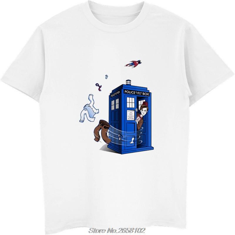 Dr. Who camiseta estilo de Hip Hop Nueva original Diseño camiseta de las mujeres frescas hombre de la manera camiseta harajuku streetwear