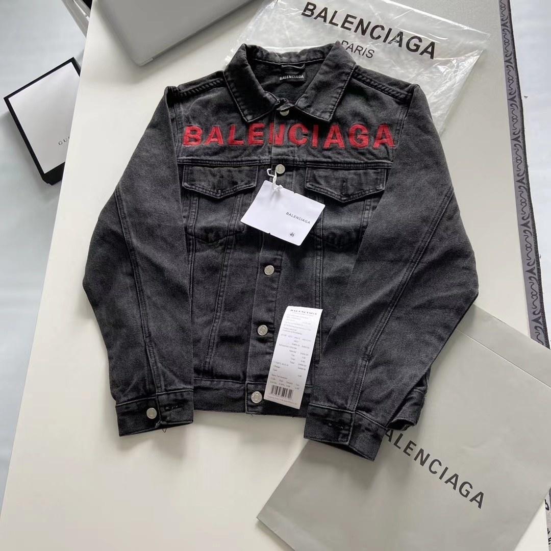 20ss Paris luxurys BAL embroidery letters Denim jacket Women Men Long Sleeve Sweatshirts sun-protective Streetwear Outdoor Hoodies 7.23