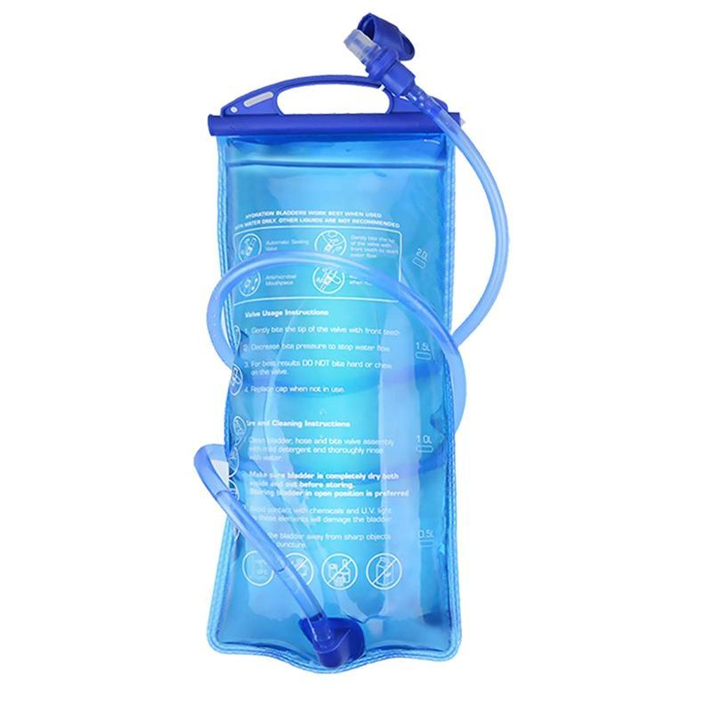 SEWS-2L vejiga Hidratación Paquete vejiga, con aislamiento embalses libre de BPA vejiga repuesto para Mochila al aire libre Correr Ciclismo H