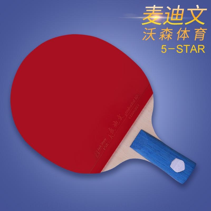Mai Diwen cinco estrellas formación de los estudiantes conjunto de mesa de entrenamiento de tenis de mesa horizontal directa pistas de artículos de deporte de la raqueta Racketracket