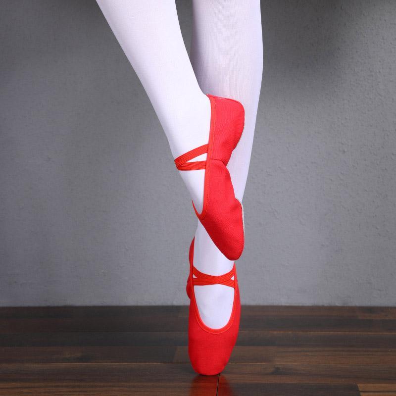 المرأة بوانت الرقص أحذية للرجال الفتيات الأطفال أطفال الباليه اليوغا النعال المسطحة الناعمة باطن التدريب حذاء القط مخلب