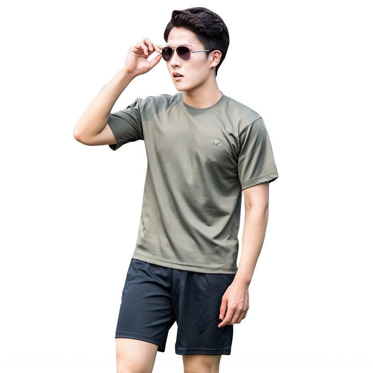 07 Футболка Фитнес костюм армии с короткими рукавами футболки летом быстросохнущие outdoorfans Спецназ подготовки костюм