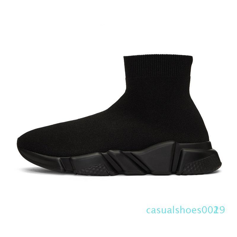 1Designer носок обувь тройные черные белые мужчин женщины моды кроссовки сверкают желтую синие розовые мужские моды тренер бегун платформы shoe2 c19