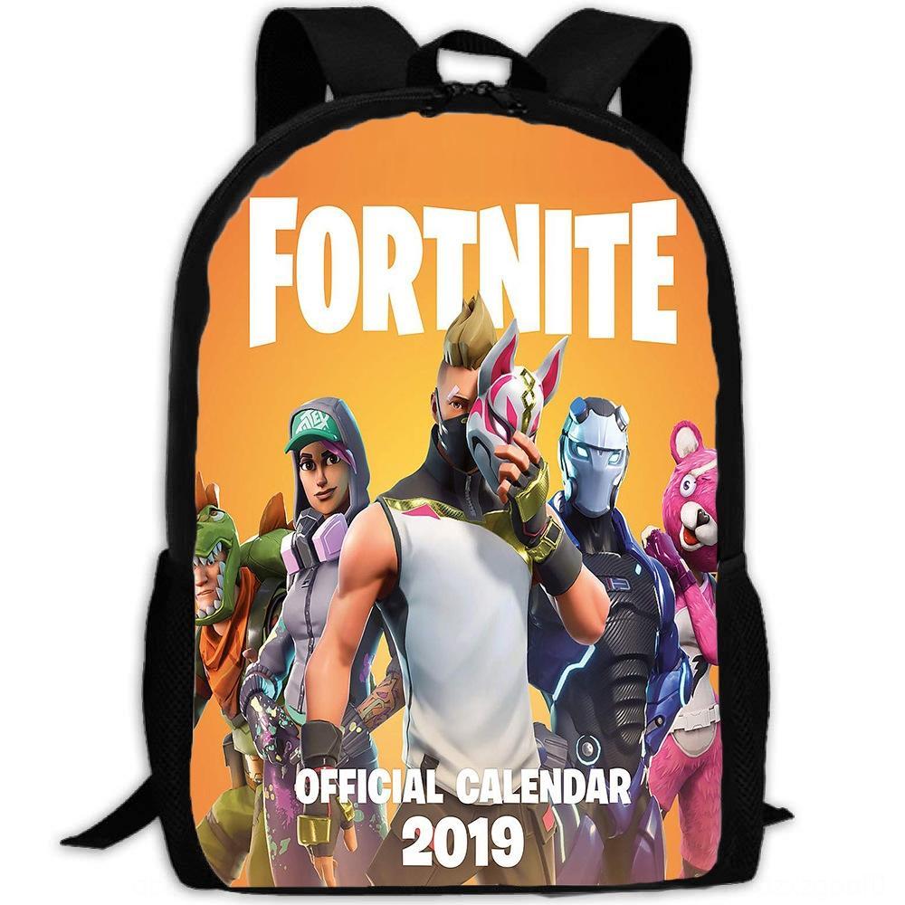 Venda quente Fortnite fortaleza mochila dos homens da noite e viagens de viagem das mulheres saco mochila de estudante bolsa de camada única mochila