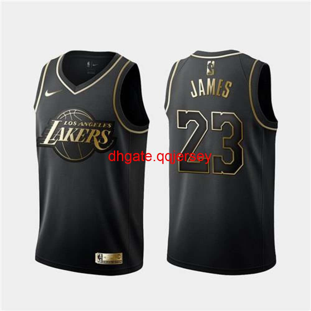 New Nnd TopArrival Match Suit Basketball Clothes Clothes Star Style MaleLeBron James #23 Black 2019 All-Star Game FinishedJersey