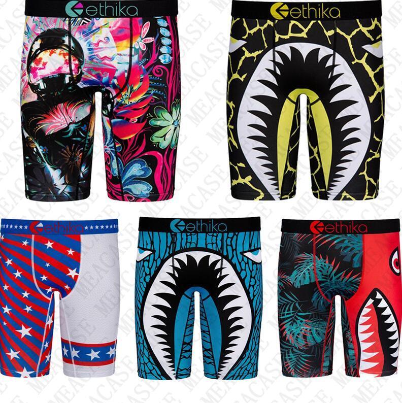 Köpekbalığı Erkek Hızlı Kuru Boksörler Uzun Dipler Iç Çamaşırı Tasarımcı Mayo Şort Külot Spor Sahil Kısa Pantolon Legging Külot D72707