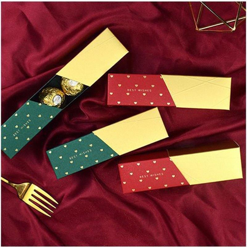 50pcs neue kreative Lippenstift-Süßigkeit-Kasten Hochzeitsbevorzugungsgeschenk Box-Babyparty-Geburtstags-Party Supplies Dekoration Paket Geschenk-Beutel lHYk #