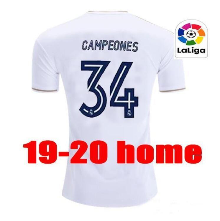 새로운 레알 마드리드 유니폼 (20) (21) 축구 유니폼 위험 세르히오 라모스 벤제마 비니의 camiseta 축구 셔츠 유니폼 남성 + 아이 키트 세트 19/20