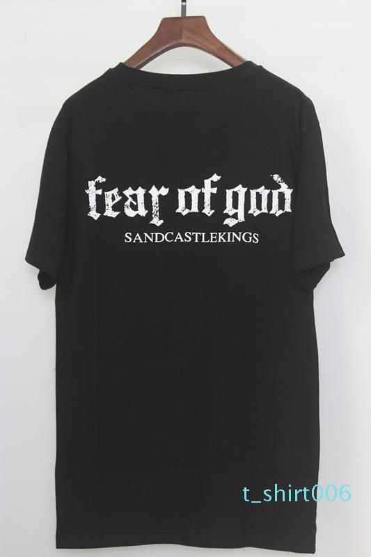 Hommes Femmes T-shirt FOG crainte de Dieu Essentials Hip Hop Kanye West été Tee shirt Tops designer Hip Hop 21183B4x