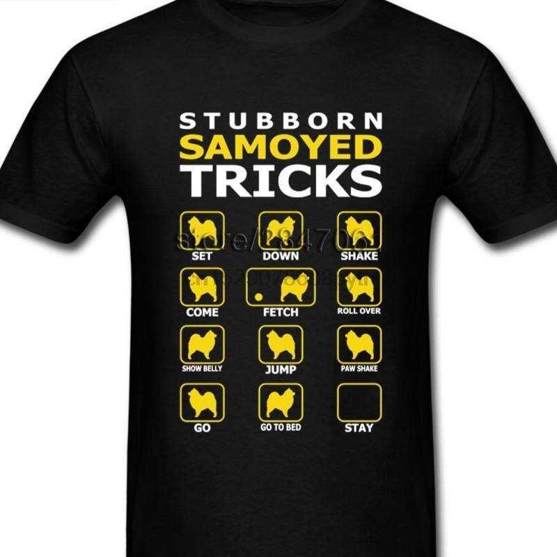 Designer sur mesure Samoyède Dog T-shirts homme unique à manches courtes mode graphique Boyfriendt Chemises