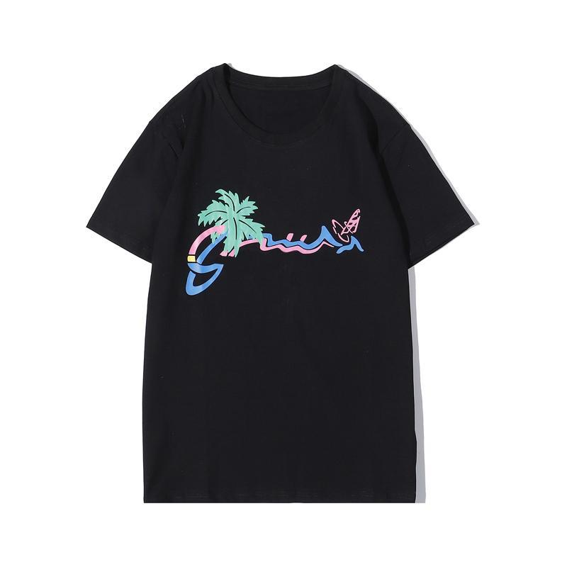 Yaz Popüler Harf Baskı T Shirt Erkekler Kadınlar Soğuk Kısa Kollu 2 Renkler Yüksek Kaliteli Tişörtlü Klasik Şık Tees S-2XL Tops