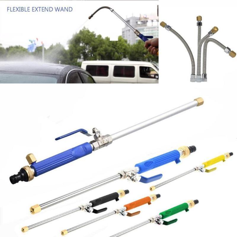 LH-860 10m spray Distância de Alta Pressão Flushing ferramenta de limpeza Jardim Fazenda Bellows Car Wash Water Gun