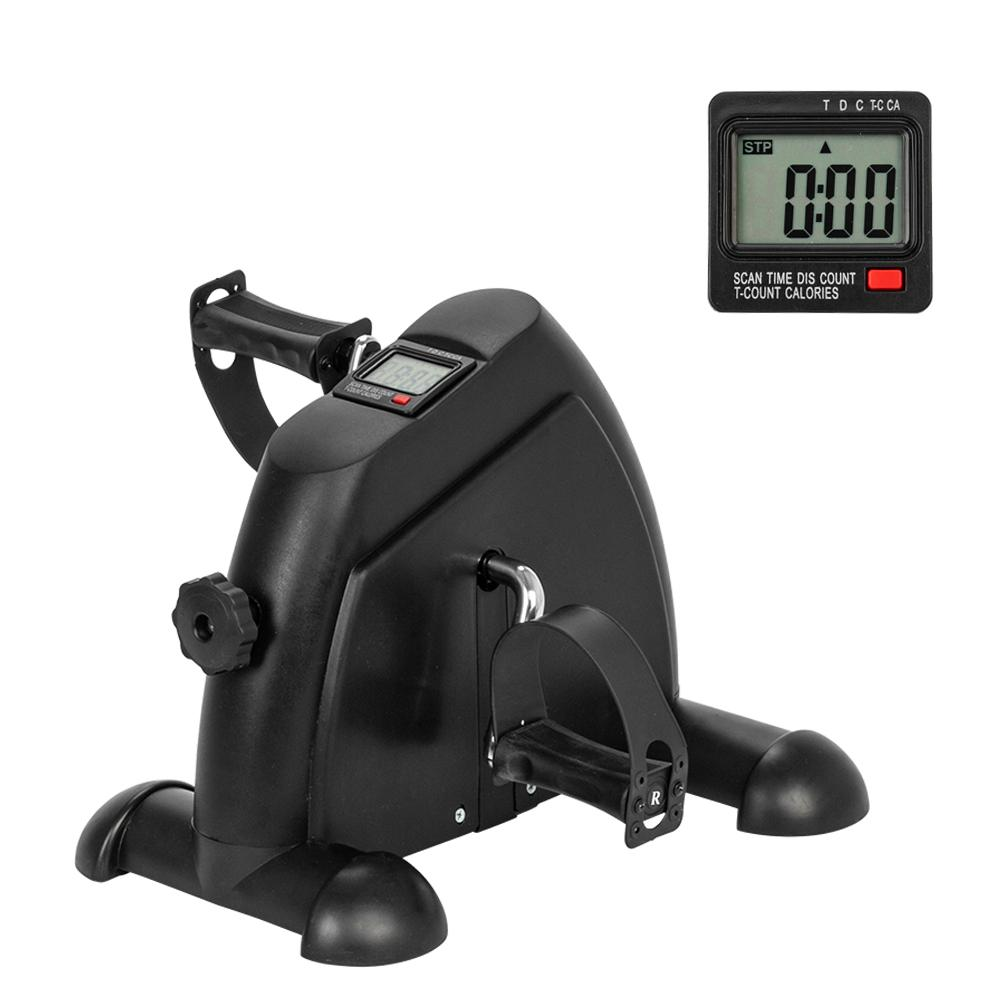 Mode Fitness Pedal Radfahren Mini Übungs-Fahrrad Pedal Exerciser mit LCD-Display Indoor Exercise Sportausrüstung