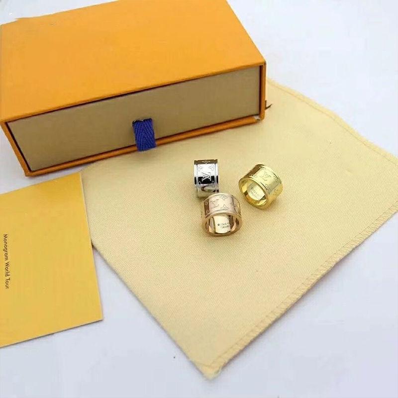 anillo de boda par de acero de titanio circón femenina anillo de compromiso hombres y mujeres regalos de joyería de accesorios de moda 008