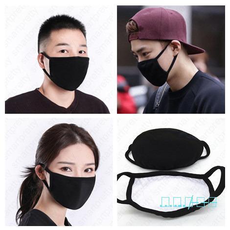 PM2.5 waschbare Gesichtsmaske Unisex Erwachsene Mouth-Muffel Thick atmungsaktive Baumwolle Masken Wiederverwendbare Radfahren Außen Anti Staub Haze Maske D42009 Warm