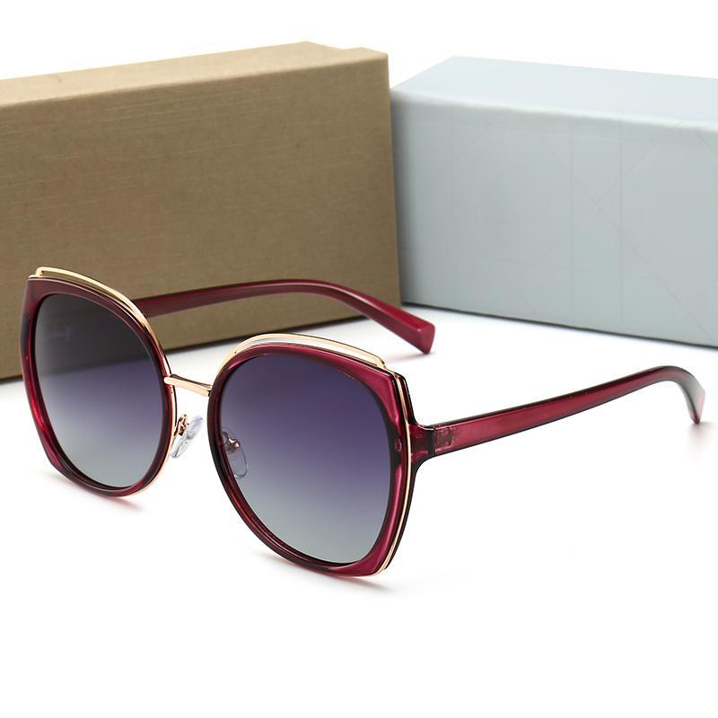 2020 api classico telaio Occhiali da sole rotondi cd Donne Uomini di lusso di marca del progettista dello specchio della lega Occhiali da Sole Vintage Modis Oculos gg