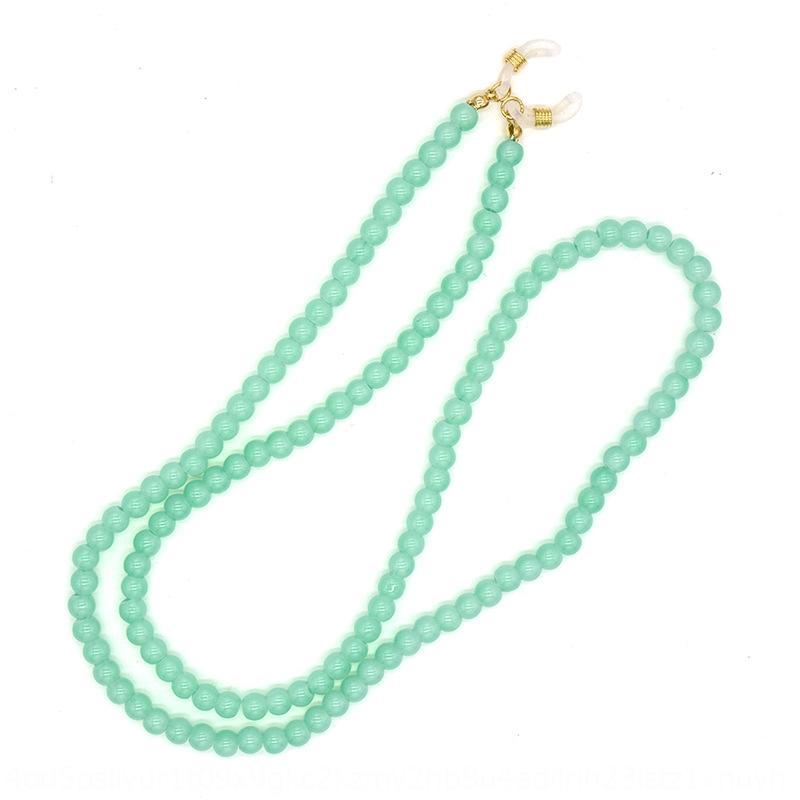 perle di vetro colorate caramelle di accessorio sole catena di gioielli occhiali da sole accessori appesi al collo gli occhiali corda