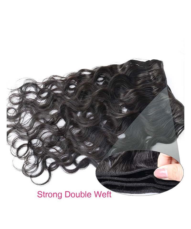 Elibess peruanische Jungfrau-Haar Weaves Menschliches Haar Bundles Körper-Wellen 70g ein Bündel 6 Bundles ein Lot
