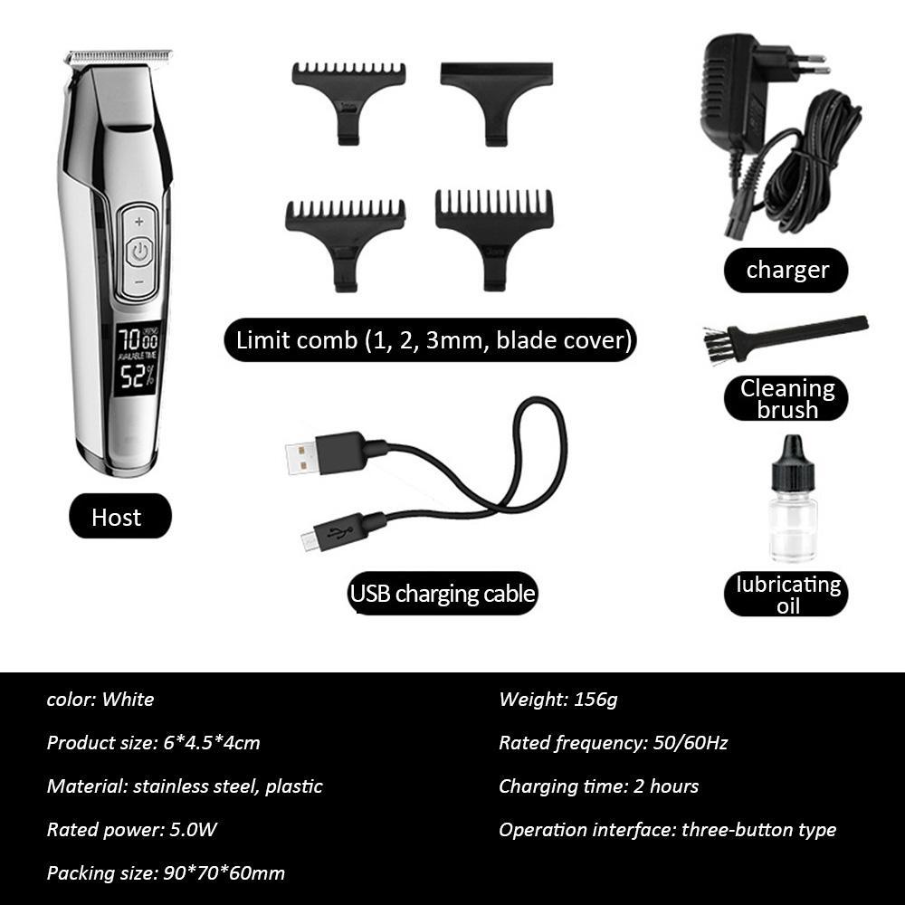 Kemei 1949 Professional Машинка для стрижки волос Все Metal Men Electric Аккумуляторные лучшие машинки для стрижки волос для бритвенной головки bwkf DavGM
