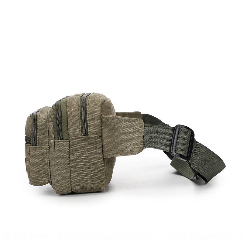 PWDlW Spor bel çantası tuval aşınmaya dayanıklı dış mekan dağcılık cep telefonu bel çalışan Telefonu çalışan çok fonksiyonlu tacticalcanvas