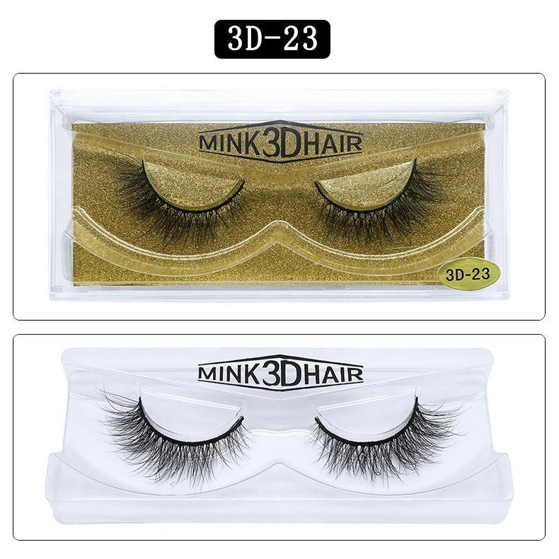 Gran 3D 25 estilos herramientas de la belleza del pelo de visón pestañas Manual Afilado Pestañas Falso maleta dramática 100 visón Real pestañas largas 3D