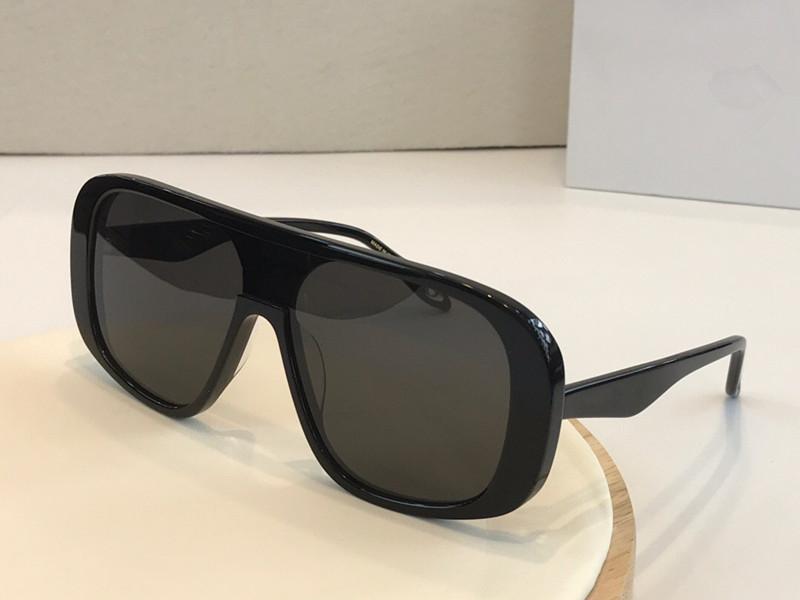7268 diseñador de gafas de sol populares máscara cuadrada unisex marco de las gafas de sol estilo de costura sencilla Lentes UV400 gafas de calidad superior de protección