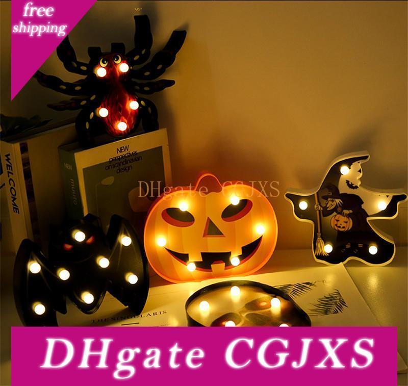 Marquee Halloween 2020 2020 Marquee Led Night Light For Home Halloween Decoration Ghost