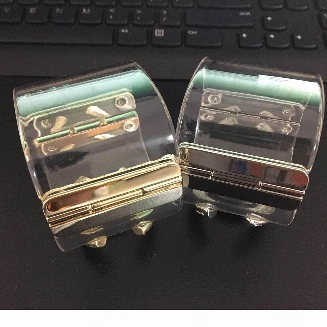 2018 Punkarmband Art und Weise transparent Diamant-Armband-Armbänder für Männer und Frauen Hochzeit Schmuck Geschenk Schmuck-Liebhaber Zp Material