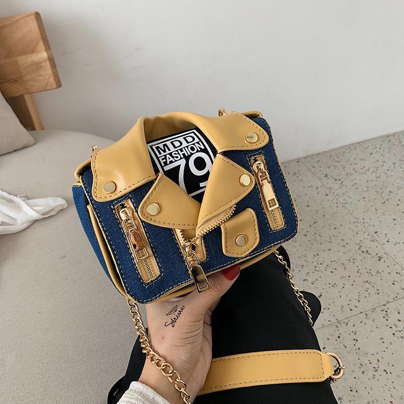 Moda Piccolo Crossbody Borse per le donne 2020 Donne Borse Designer Patchwork Femminile Purses Patchwork e borse