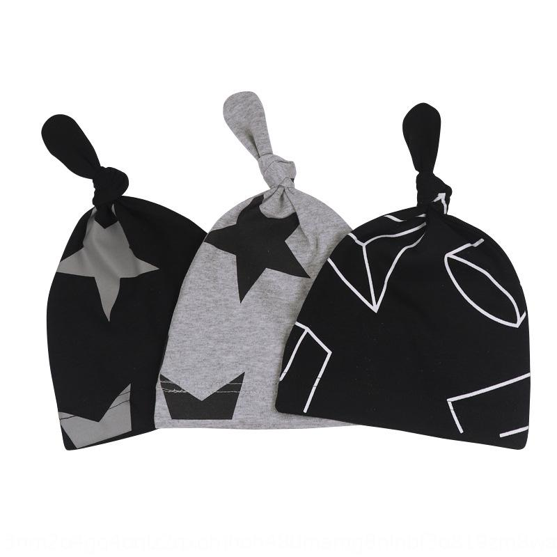 бэби мальчиков и девочек корейского ребенок нового Bay Bay шлем младенец крышка звезда хвост детской шапка