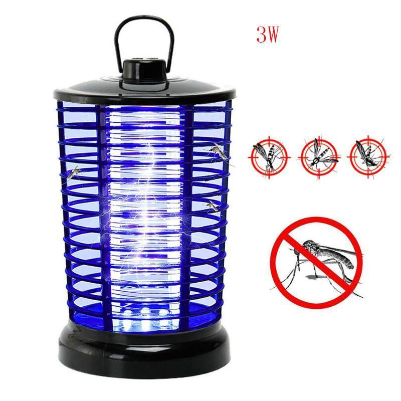 Meilleures ventes 2020 produits Bug électrique Zapper avec crochet Portable Light ou debout suspension à lumière pour la maison soutien dropshipping