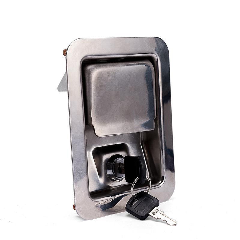 Chassis stainless steel truck lock Door Hardware Electric cabinet lock fire box toolcase lock Industrial equipment doorpull handle knob