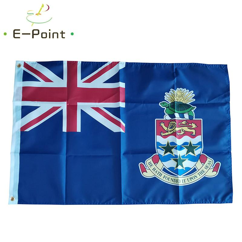 Cayman Islands Flagge Staat Land 3 * 5 Fuß (90cm * 150cm) Polyester Banner Dekoration nach Hause fliegt Garten Flagge