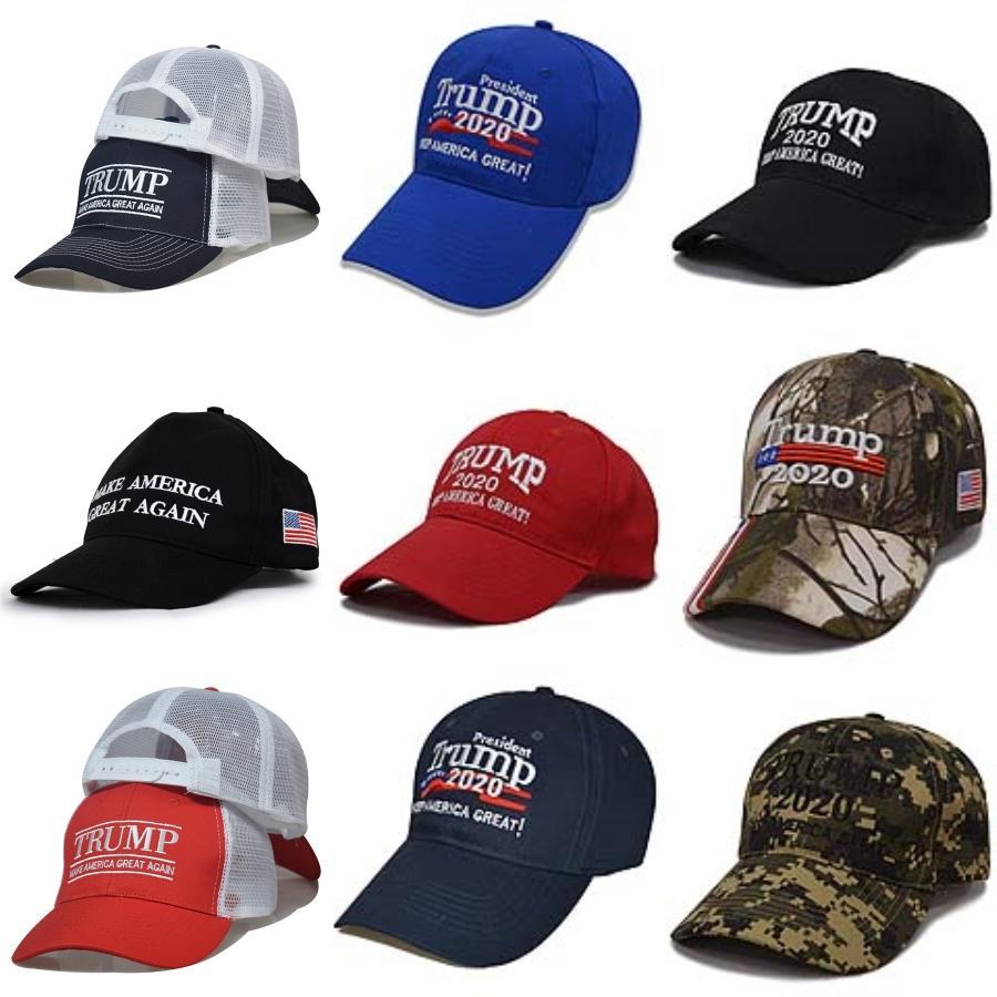 Venda imperdível!!! Bordados Trump 2020 tornar a América Great Again Donald Trump Baseball Caps Caps Chapéus de beisebol Adultos Hat Sports frete grátis # 476