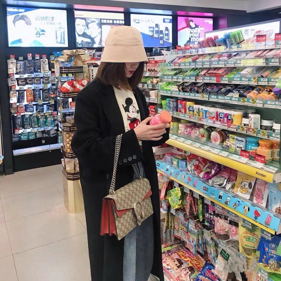 Spring and Summer Narrow Brim Basin Hat Female Suitable for round Face Ins Hat Fisherman Hat Female Japanese and Korean Style All-match Smal