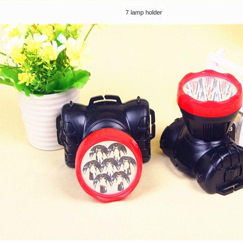 Head-Mounted-Artefakt wiederaufladbare LED Multi-Lampe U-Bahn-Taschenlampe Scheinwerfer Taschenlampe Scheinwerfer Suche Nachtangeln