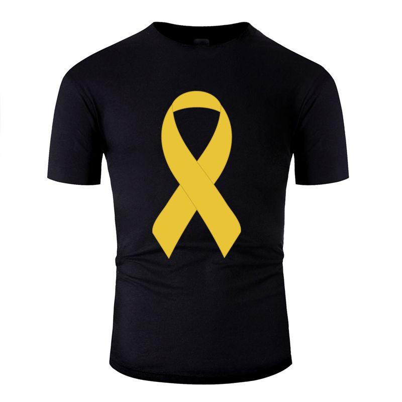 Customized supporto giallo nastro maglietta traspirante per gli uomini di sesso maschile 2020 euro formato S-5XL uomini modello t camicia allentata girocollo