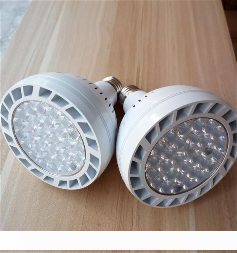 PAR38 60W LED Spotlight Par 38 Bulb SMD2835 Warm White With Fan For Jewelry Clothing Shop Gallery Led Track Rail Light