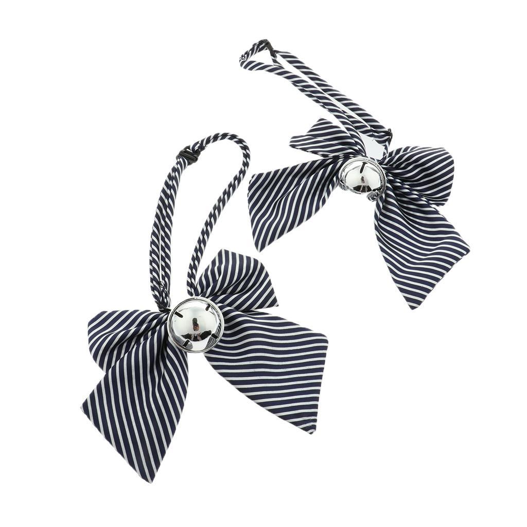 2 Pieces bonito do animal de estimação Cães Gatos Handmade arco ajustável nó de gravata para Acessórios Wedding Party