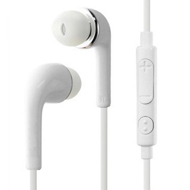 J5 3.5mm Jack Kulaklık Kulak Içinde Kablolu Kulaklık Kulaklık Samsung Galaxy S6 S7 S8 S9 için Mikrofon ile