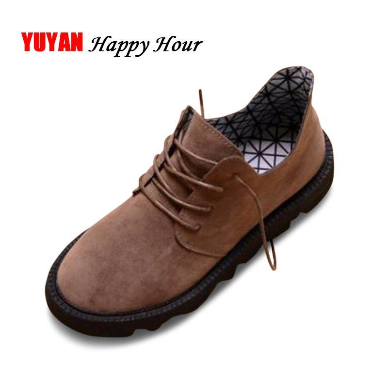 Zapatos de lona de la marca mujeres otoño invierno zapatos de alta calidad cordón de las señoras informal para damas Pisos A366