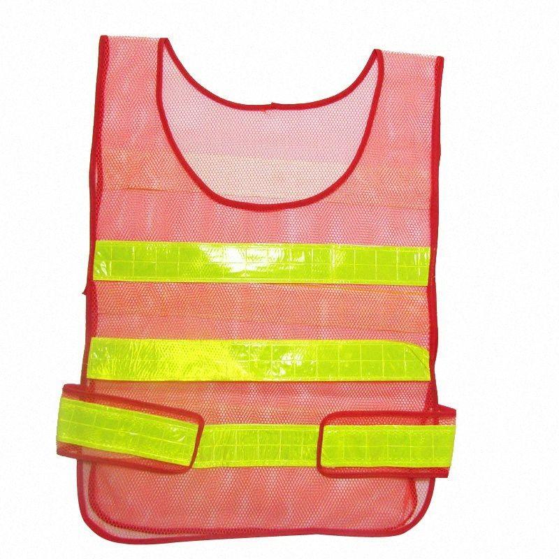 Dia de Segurança LumiParty Segurança / noite malha exterior Biking Correndo Jogging Vest, Visibilidade Reflective refletor Vest engrenagem 431d #