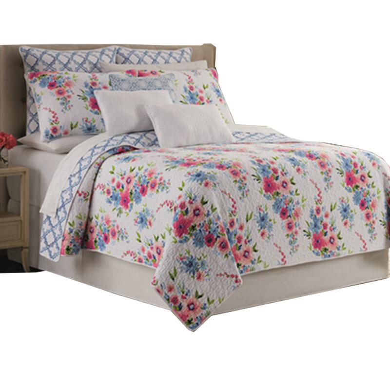 Cotone americano Europa Quilting Quilts Pastorale copriletto Coperte Set lenzuola diffusione letto King Size Bedding Set 3pcs BedTopper quiltcover